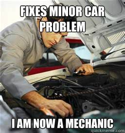 Car Repair Meme - 110 best images about mechanic jokes on pinterest