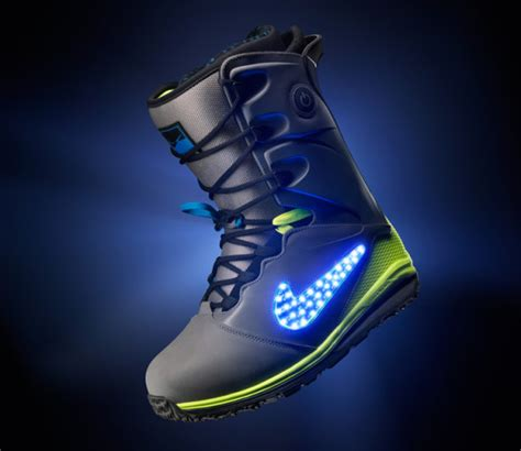 light up snowboard boots impressive led snowboard boots by nike