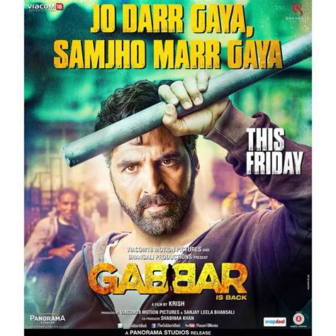 film india gabbar is back gabbar is back box office pre booking starts in india