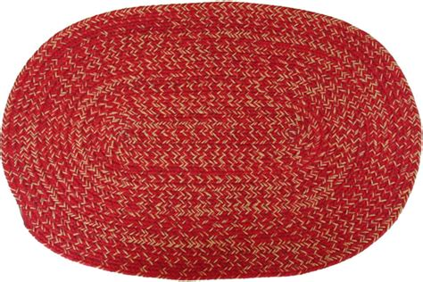 carolina braided rugs carolina cardinal oval braided rug