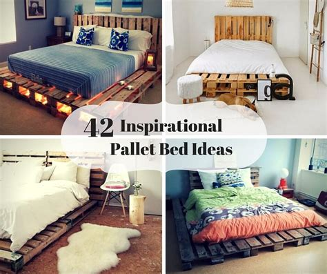 pallet bed frame ideas 7 inspirational pallet headboards you have never seen