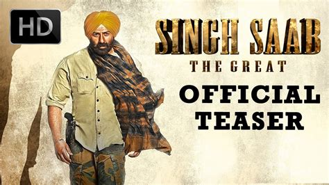 deol shares the teaser of singh saab the great official teaser deol