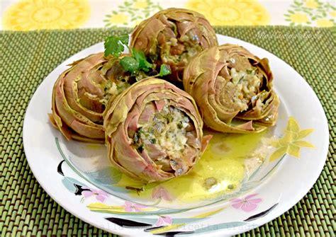 carciofi cucinare carciofi alla romana ricetta tradizionale mind cucina e