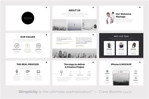 powerpoint theme vs template minimal powerpoint template presentations on