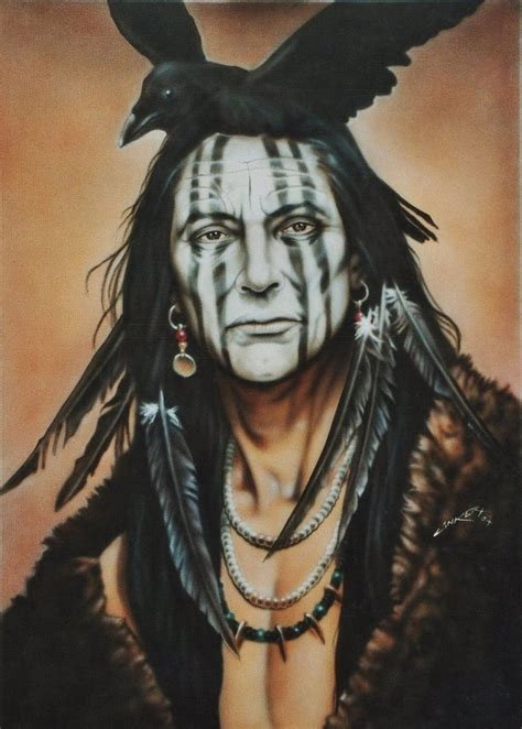 crow indian by linkerart on deviantart