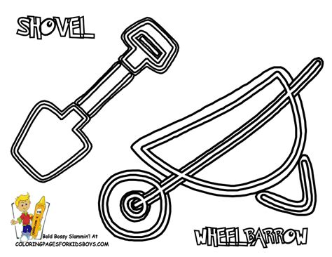 tool coloring pages coloring home