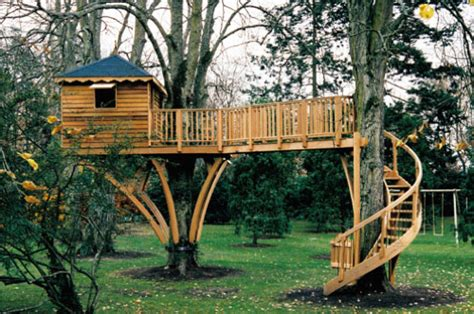 swing set between two trees the perfect treehouse mosey
