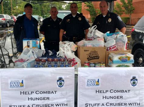 Food Pantry Concord Nh by Stuff A Cruiser Food Drive A Great Success