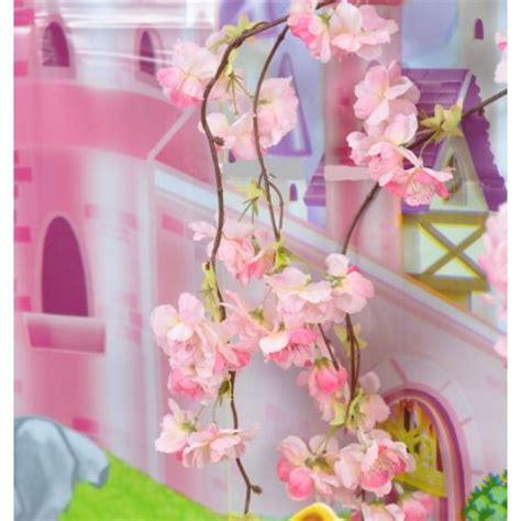 sui fiori di ciliegio ramo fiori di pesco 1 2 m con tre rami pendenti wimipops