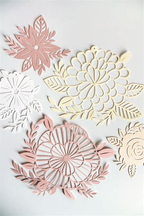 paper cut out templates flowers 741 best paper cutting images on papercutting