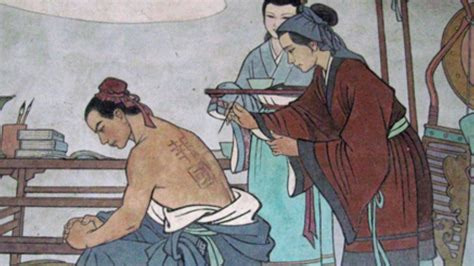 tattoo history in china famous mothers from ancient chinese history youtube