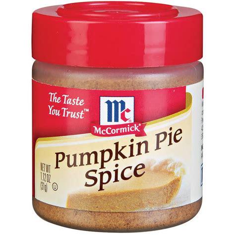 mccormick pumpkin pie spice extract