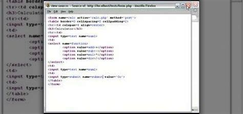 Calculator Php | how to program a calculator with php 171 php wonderhowto