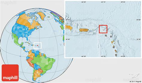 anguilla world map political location map of anguilla