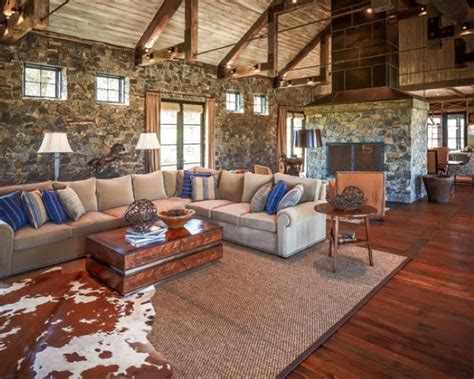living room rustic small rustic living room design