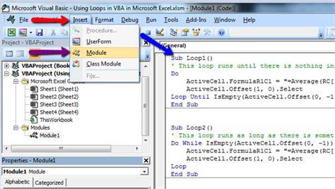 microsoft tutorial vba excel using loop in vba in microsoft excel microsoft excel