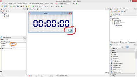 cara membuat jam digital di netbeans cara membuat jam digital di delphi beemble indonesia