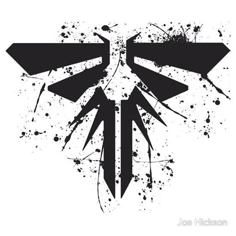 firefly symbol the last of us will tlou pinterest