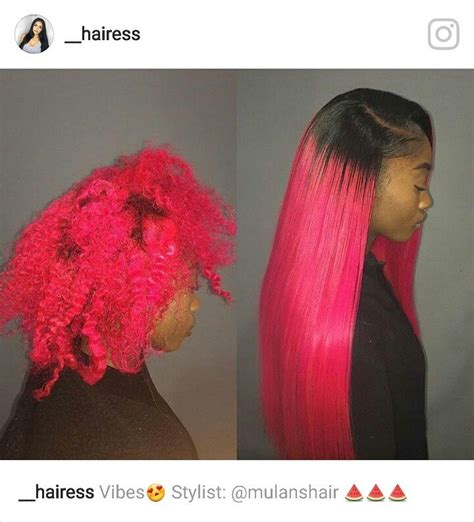 long pink sew in weave 1256 best images about hairgasm on pinterest