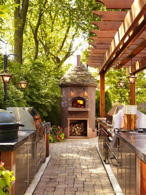 Amazing Outdoor Kitchen Designs by Affordable Ideas For Amazing Outdoor Kitchens Interior