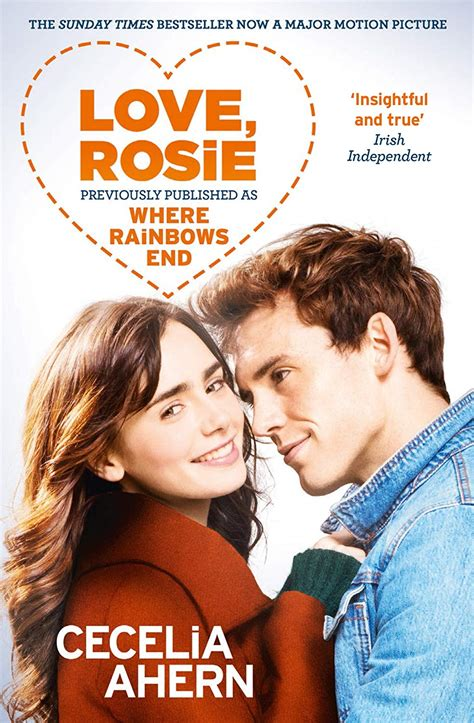 reviews by amber love rosie where rainbows end by cecelia ahern spoilers