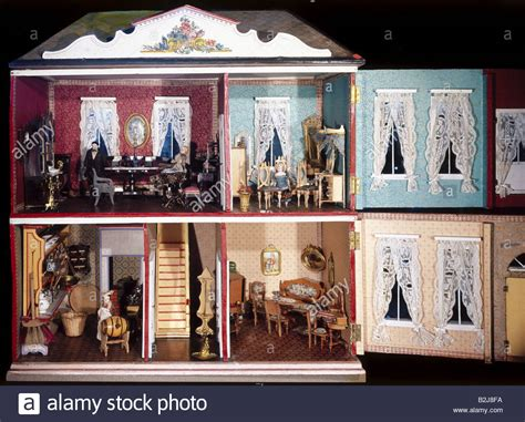 doll house ta toys dolls dollhouse nuremberg circa 1875 1880 munich stock photo royalty free