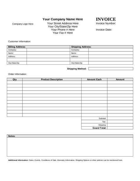standard invoice form work proposal letter membership id