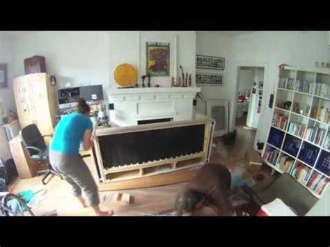 assembling ektorp sofa how to build an ikea karlstad sofa youtube