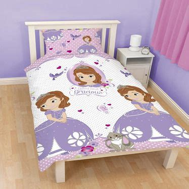 sophia the first bedroom sofia the first amulet single bedding rotary print from
