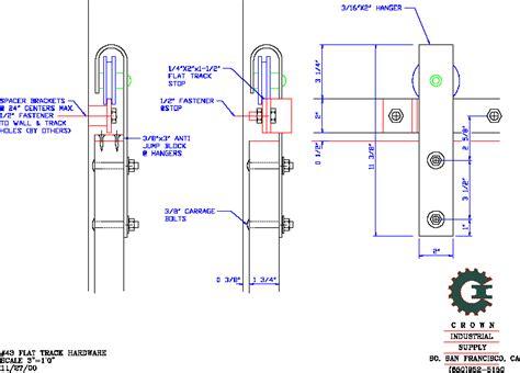 Barn Door Detail Cad Detail Architectural Barn Doors Industrial Door Barn Door Hardware And Barn