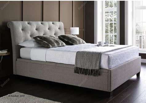 bed linen for 4ft beds kaydian design brunel 4ft 6 fabric bedframe linen
