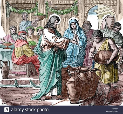Wedding At Cana Free Clipart by New Testament Gospel Of Marriage At Cana Jesus