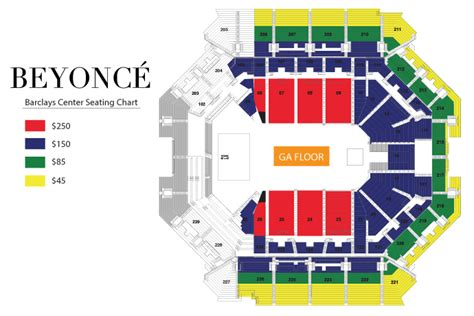 barclays center floor plan beyonc 233 barclays center