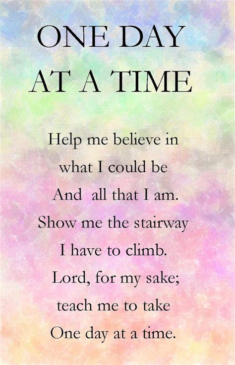 what to do for on day one day at a time more at http ibibleverses