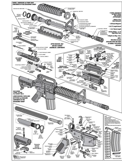 ar 15 parts diagram lower receiver ar 15 exploded diagram ar free engine image for user