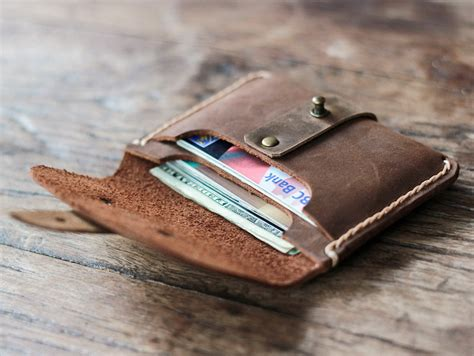 Best Handmade Leather Wallets - treasure chest cool wallets for gifts for