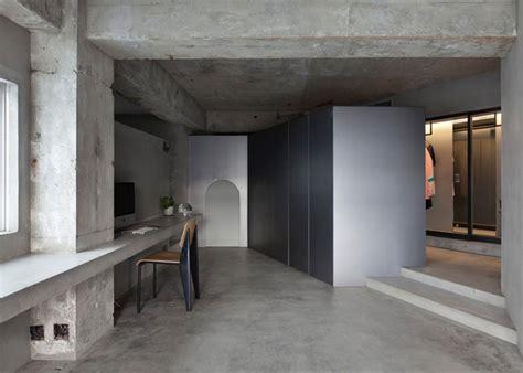 concrete apartment soak in design concrete apartment by airhouse design office the vandallist