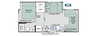 Four Winds Rv Floor Plans floor plan