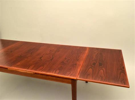 28 Wide Dining Table Modern Rosewood Dining Table By Willy Sigh With Extensions At 1stdibs