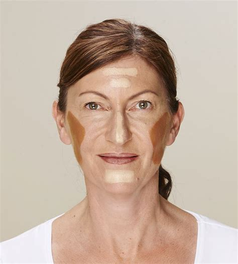 how to contour face jowles the ingenious celebrity make up trick every woman needs to