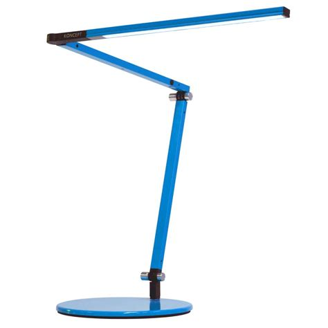 Small Led Desk L Z Bar Mini Led Desk L By Koncept Lighting Ar3100 Wd Dsk