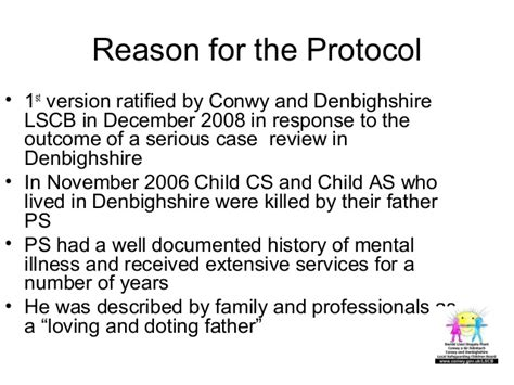 section 32 mental health mental health protocol launch conwy denbighshire lscb
