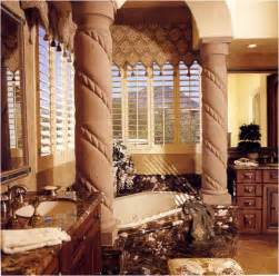design ideas tuscan bathroom