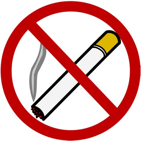 no smoking sign vector png kein rauchverbot vektor clipart public domain vektoren
