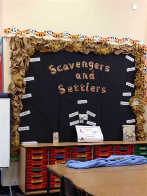 ipc themes ks2 scavengers and settlers ipc stoneage britain display