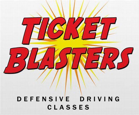 defensive driving school logo ticket blasters kb web branding austin web design seo