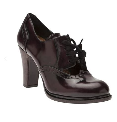 high heel oxford 9 chic high heel oxfords for your winter closet pretty