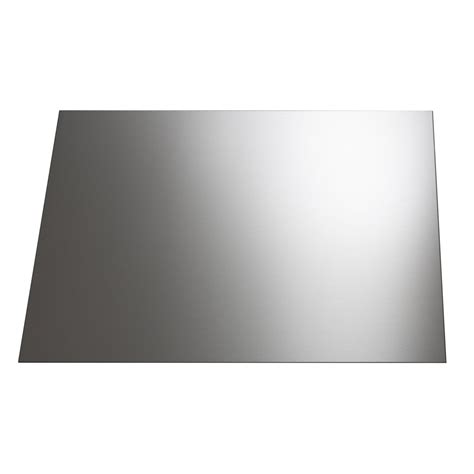 plaque adh駸ive inox cuisine cr 233 dence inox h 45 cm x l 60 cm leroy merlin