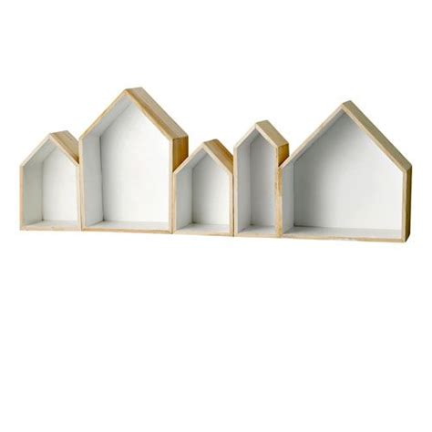 display shelf display shelves house shaped display