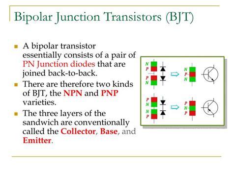 bipolar junction transistor ppt ppt bipolar junction transistors bjt powerpoint presentation id 6765193